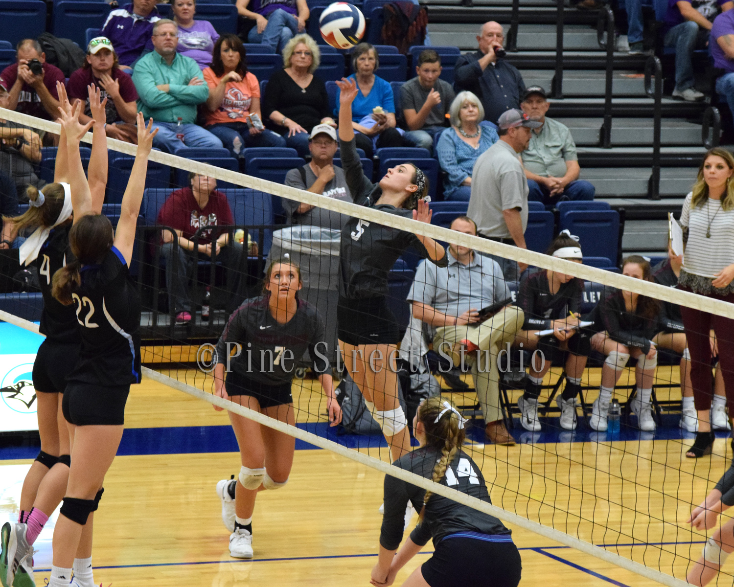 District Semi-finals Volleyball Strafford vs Clever 10-23-2018