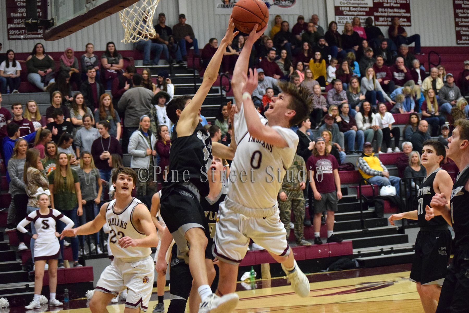 Strafford Varsity Boys Homecoming 2-8-2019 vs Skyline