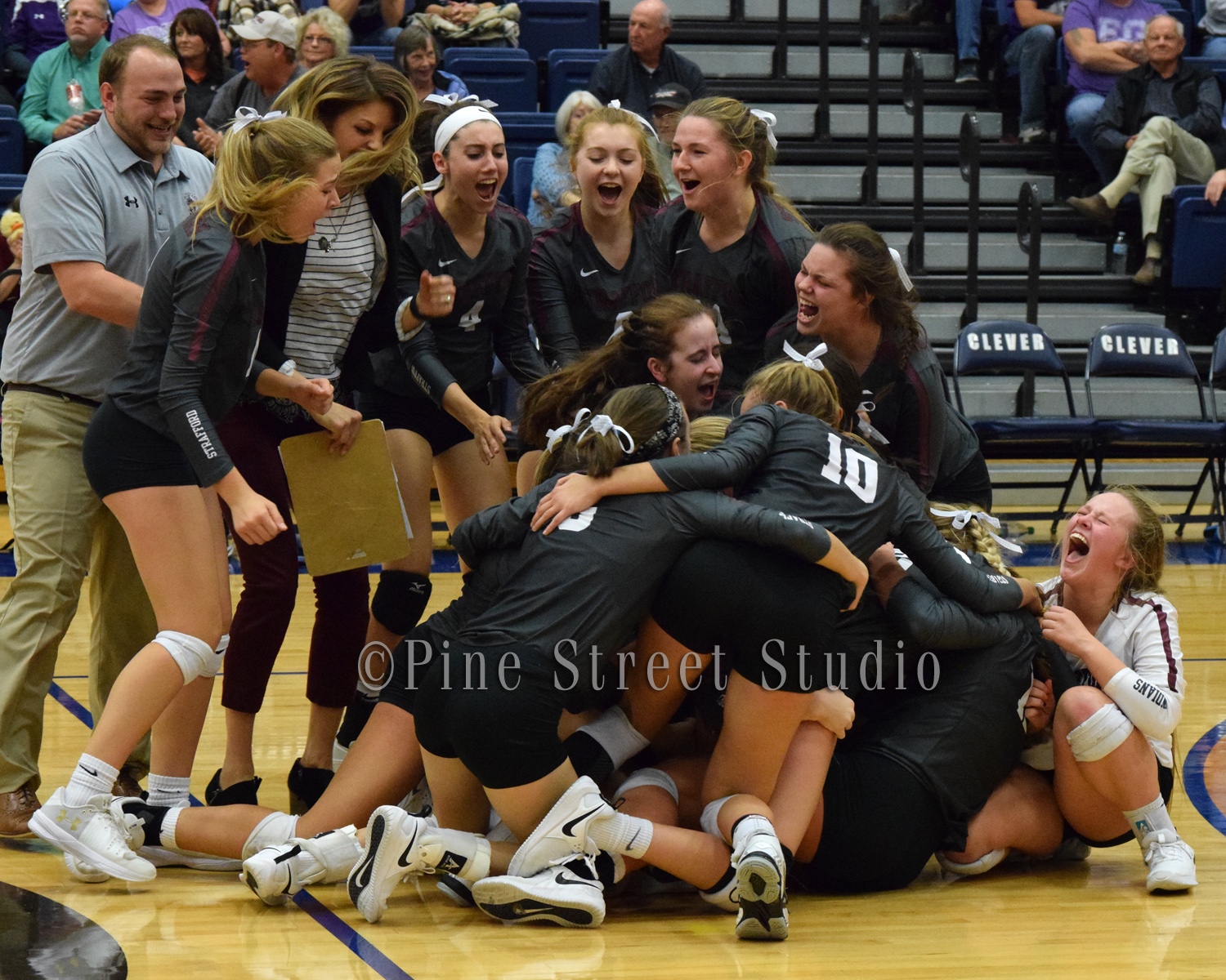 District Finals Volleyball Strafford vs Fair Grove 10-23-2018
