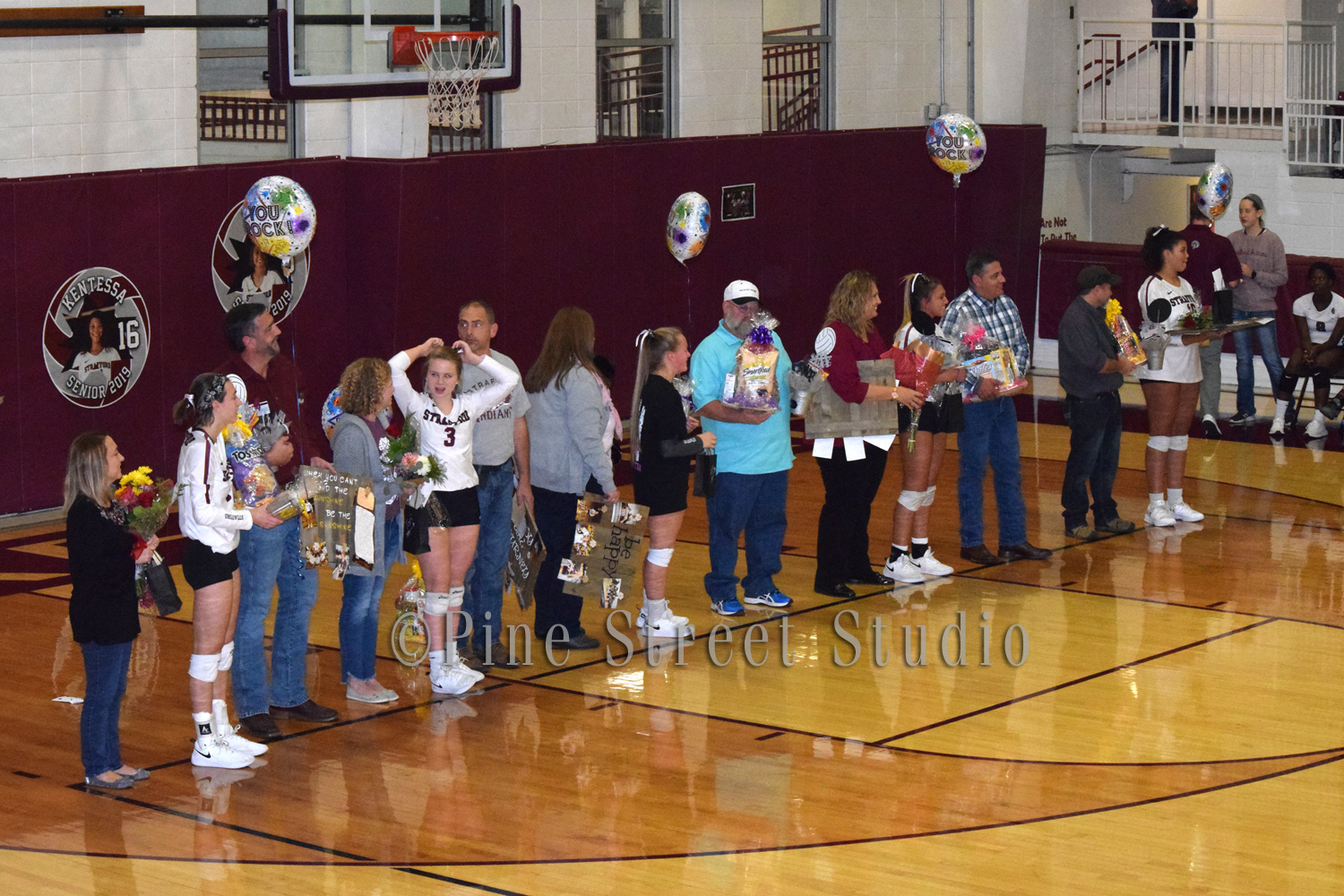 Volleyball Senior Night 10-18-2018